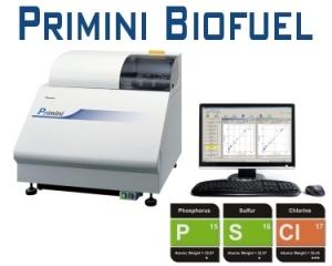 Primini Biofuel - Benchtop WDXRF Elemental Analyzer for Biofuels
