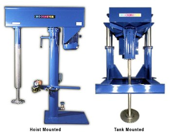 Single Shaft Mixer for Dissolving Solid Particles in Liquid - Dispenser