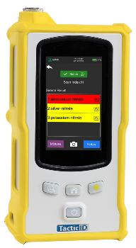 Handheld Raman for Safety Applications: TacticID®-GP Plus