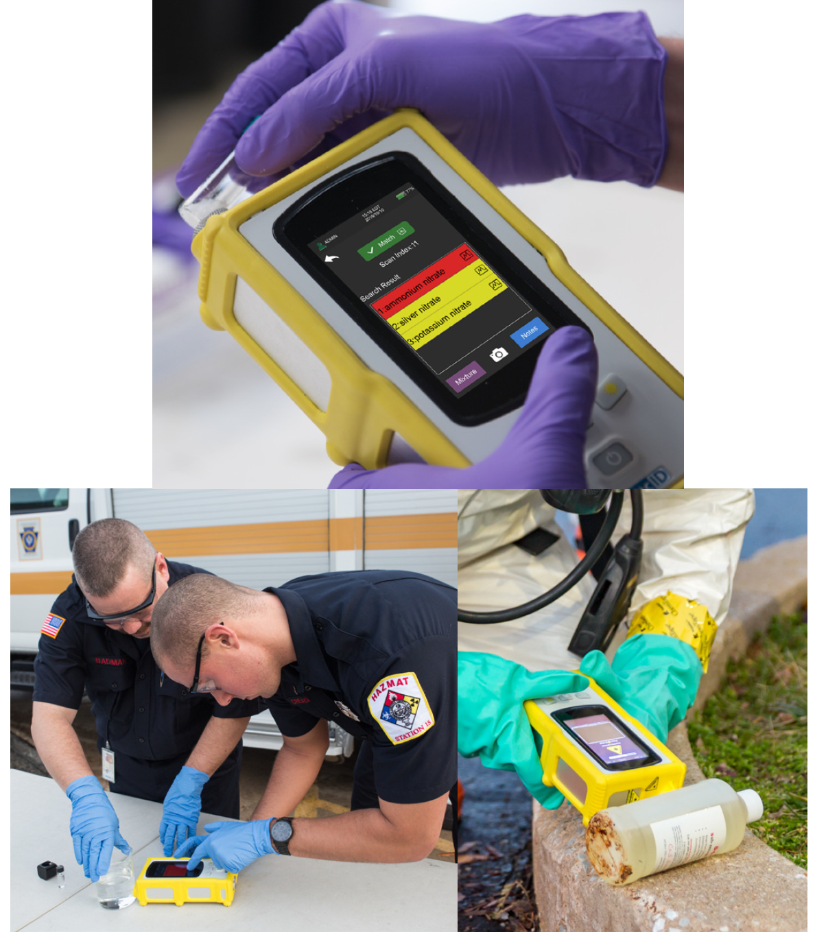 Handheld Raman for Safety Applications—TacticID® GP Plus