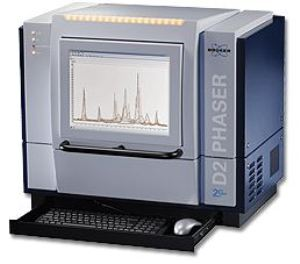 D2 PHASER 2nd Generation Benchtop X-Ray Diffractometer from Bruker