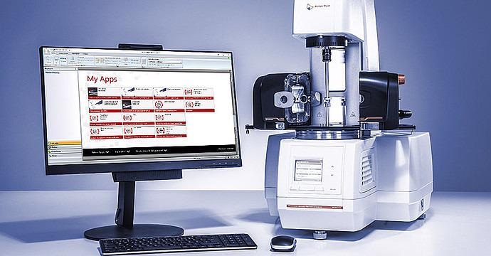 MCR Rheometer Series for Complete Rheological Testing