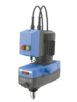 RW 47 Digital - Mechanical Stirrer for the Mixing Viscous Liquids
