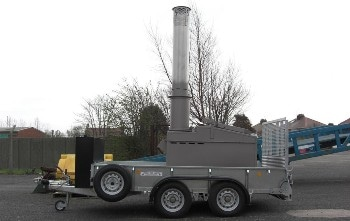Waste Management – Mobile Incinerator with High Efficiency