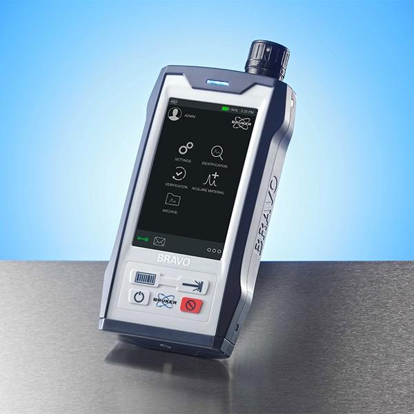 Handheld Raman Spectrometer from Bruker- BRAVO