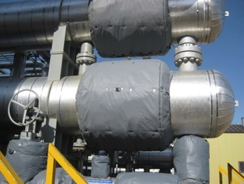 Removable Thermal Insulation Blankets for Tanks, Manways and Vessels
