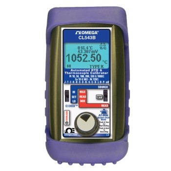 Calibrator for Thermocouple and RTDs