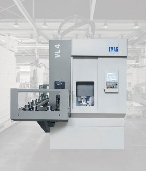 Vertical Turning Machine for Chucked Components – VL 4