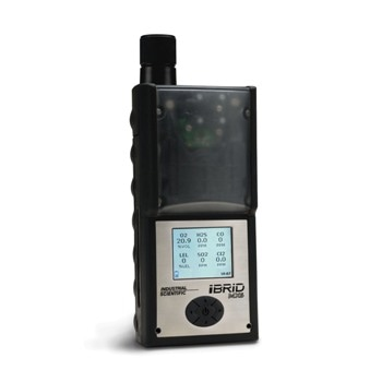 Monitor Hazardous Levels of Oxygen, Toxic and Combustible Gases with MX6 iBrid Gas Detector
