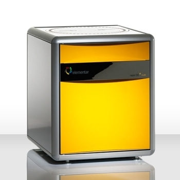 Carbon and Sulfur Analyzer - rapid CS Cube