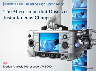 Motion Analysis Microscope - VW6000 from Keyence