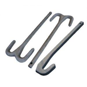 Sialon Hooks for Hot Dip Aluminizing
