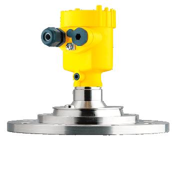 Radar Sensor for Solid Level Measurement in Varying Vessel Heights