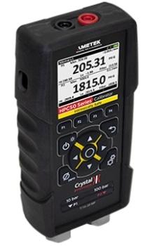 Pressure Calibrator for Pressure and Temperature Measurement