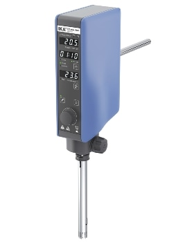 Operation Time Detection and Temperature Measurement - T 25 Easy Clean Control Disperser