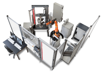 Robotic Testing System for Fully Automated Tensile Tests on Metal Specimen