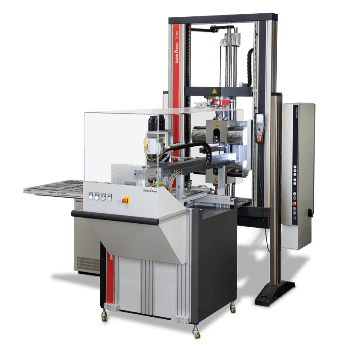 roboTest L Robotic Testing System for Flexure Tests on Plastic Specimens