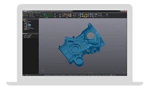 VXmodel Scan-to-CAD Post-Treatment Software Module