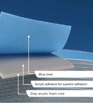 Double-Sided Acrylic Foam Tape with Outstanding Adhesion