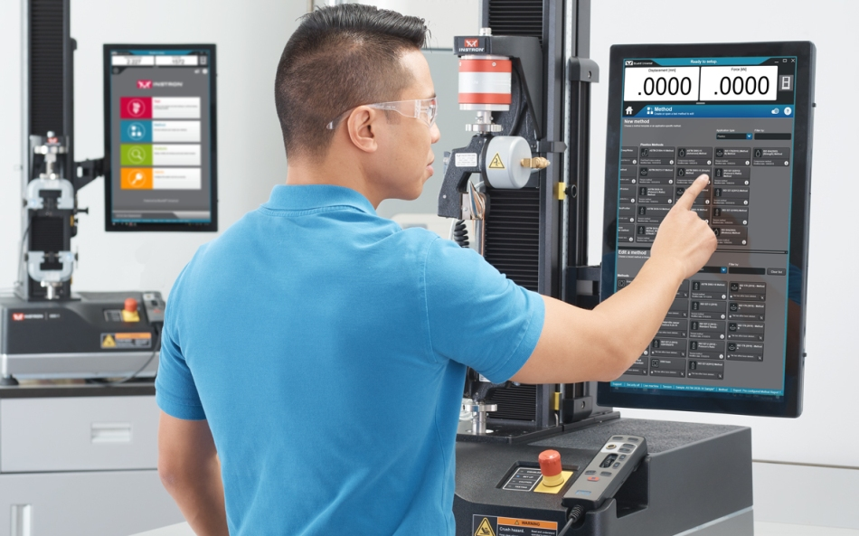 Static Testing Software—Bluehill® from Instron
