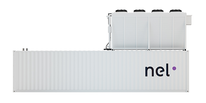 Containerized PEM Hydrogen Generators: 246 to 492 Nm³/h