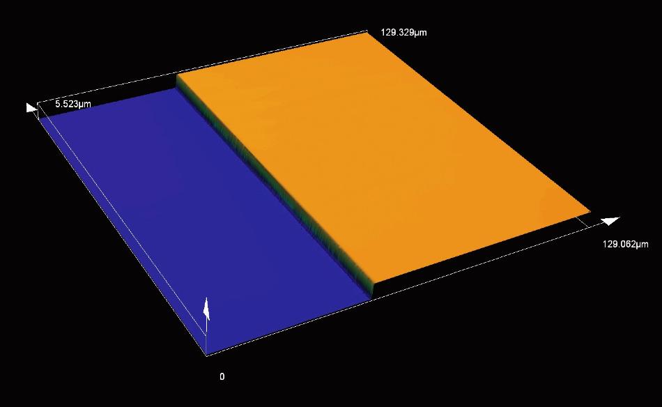 Photoresist/height measurement (MPLAPON100XLEXT).