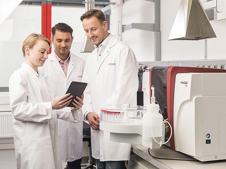High-Performance AAS for Routine Laboratories—novAA 800