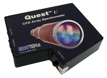 Low Stray Light CCD Spectrometer for UV Performance: Quest™ U
