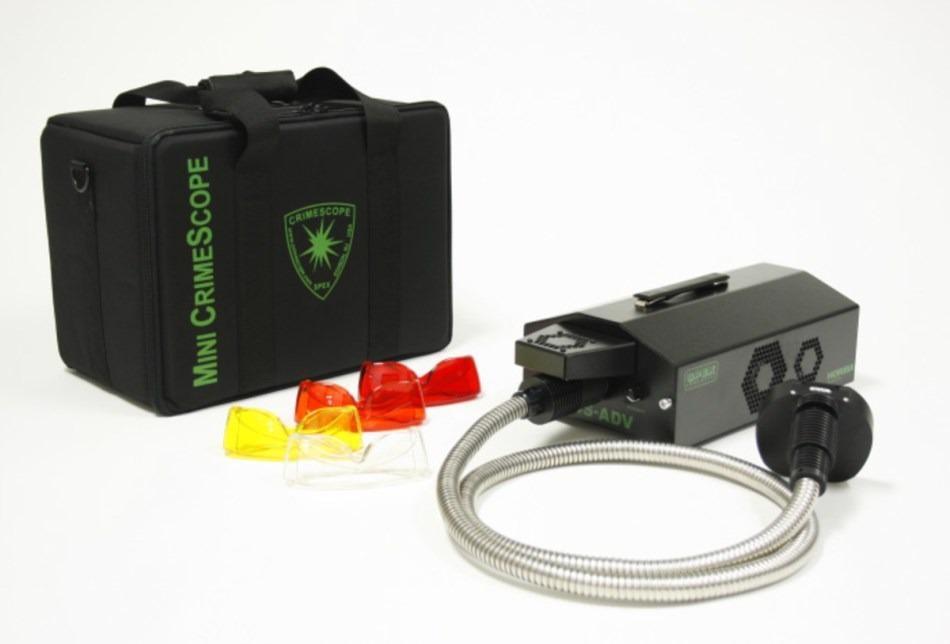 Crime Scene Forensic Light Source: Mini-CrimeScope Advance