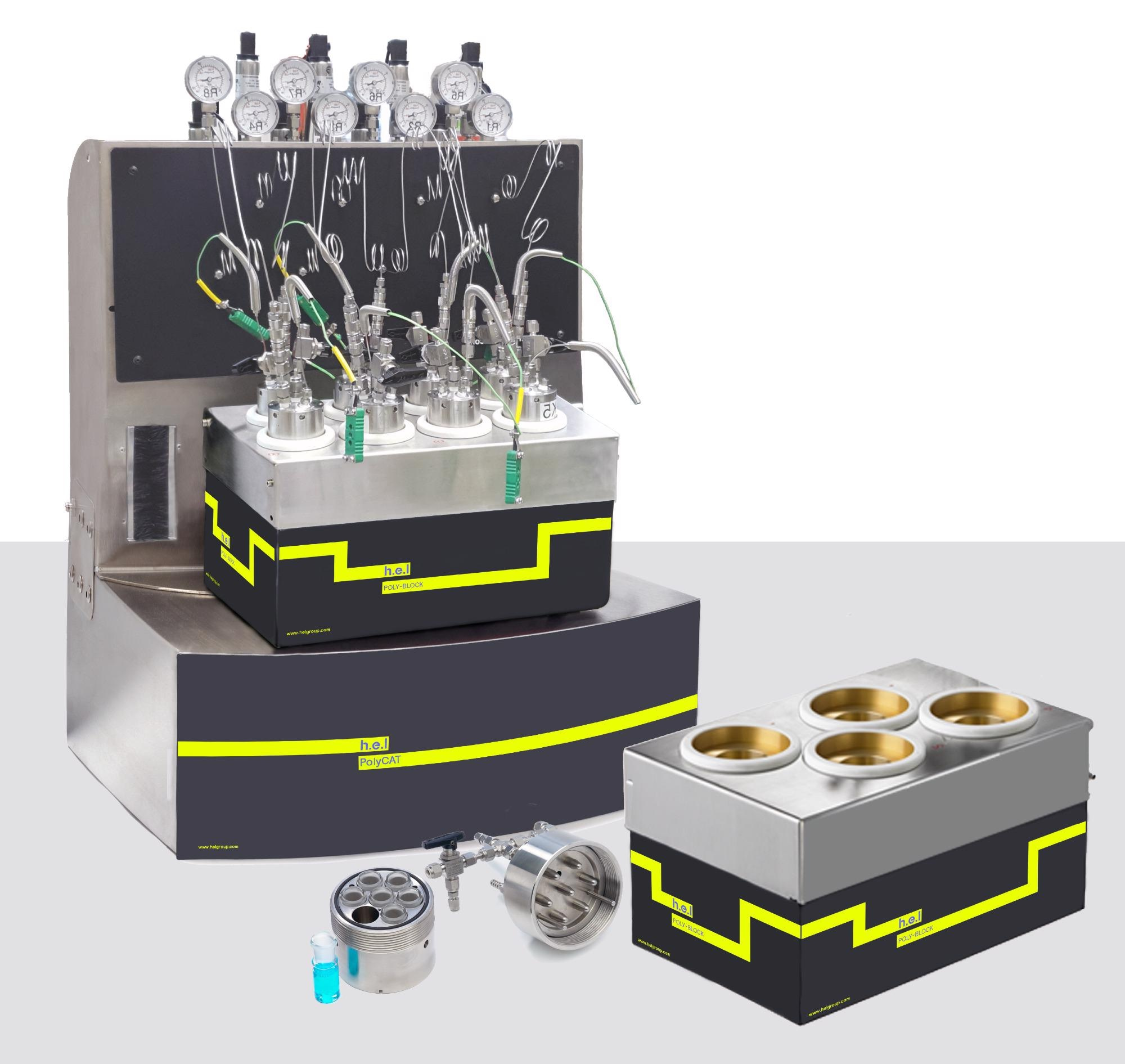 PolyCAT 4: Bench-top, 4-reactor, automated parallel catalyst screening platform