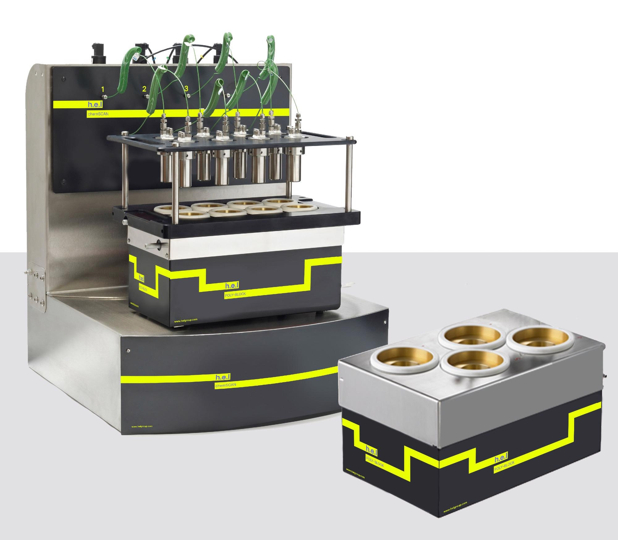 ChemSCAN: Bench-top, automated parallel catalyst screening and development platform