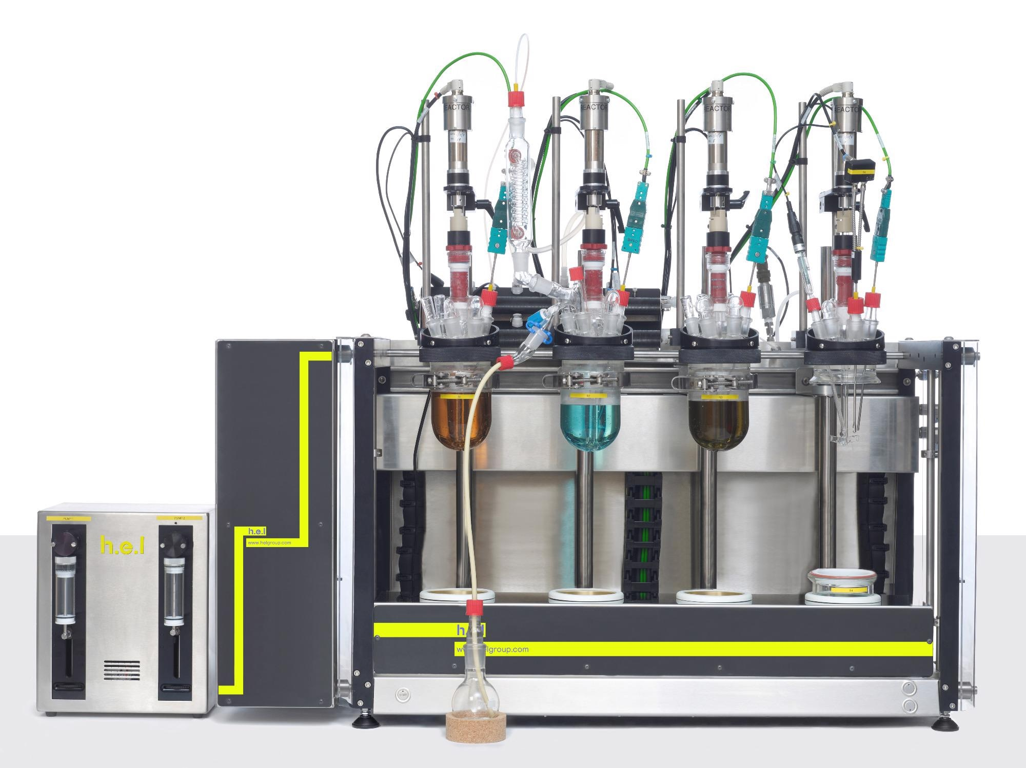 AutoMATE 4: A Linear 4 Reactor, Bench-Top, Automated Parallel Synthesis Platform
