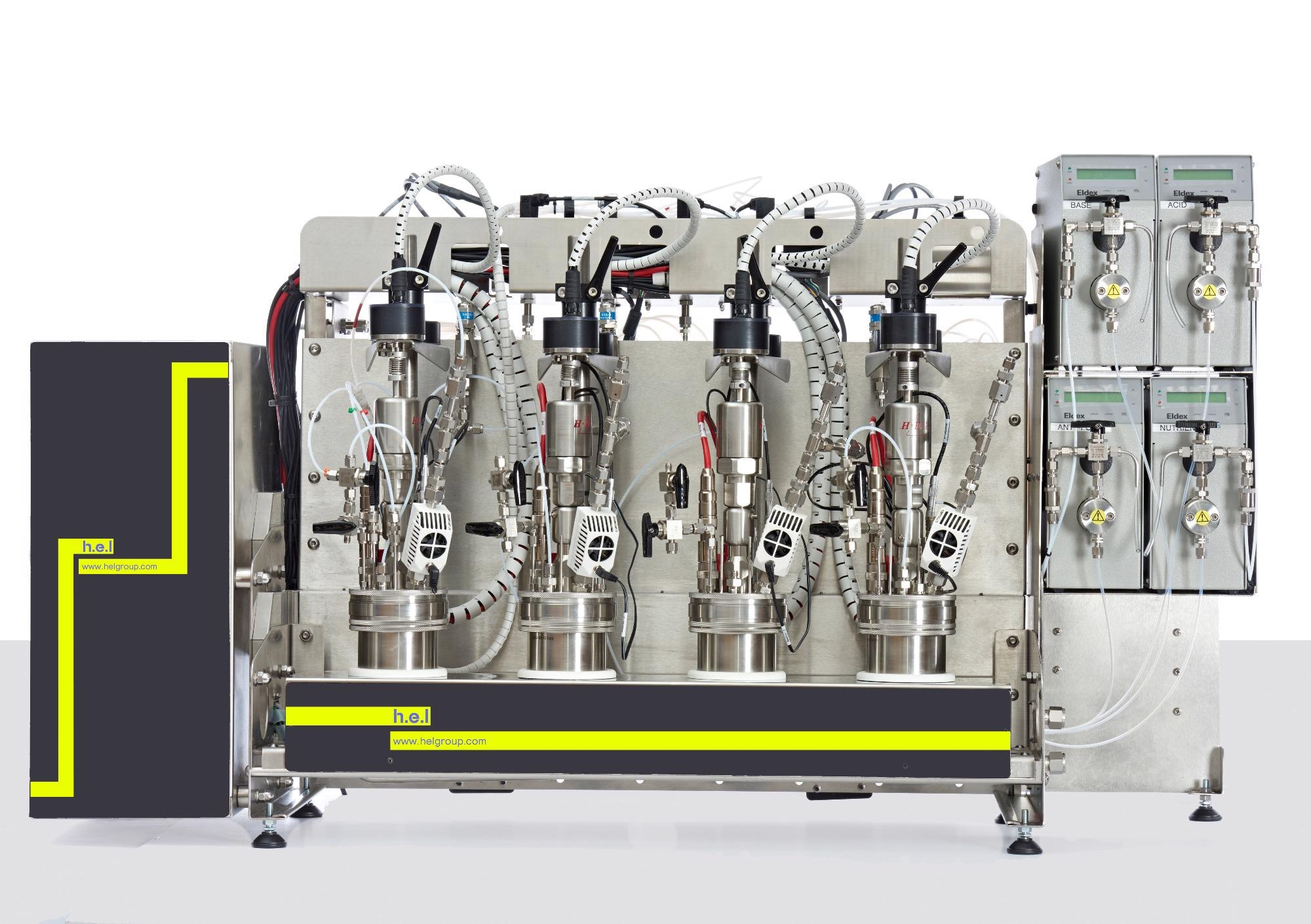 AutoMATE High Pressure: A High-Pressure, Bench-Top, 4- or 8- Reactor, Parallel Automated Reactor System