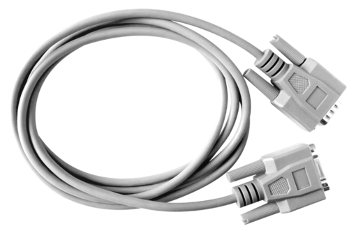 RS 232 cable.