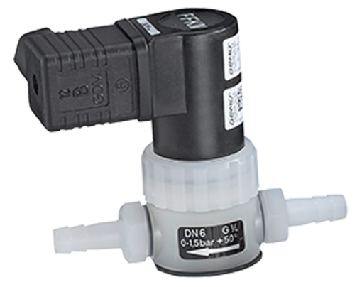 Vacuum valve—can be used to handle vacuum for Hei-VAP Precision models with valve-regulated pumps.