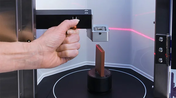 Benchtop Laser-Based Scanner: Ceramscan for Density and Dimension Measurement