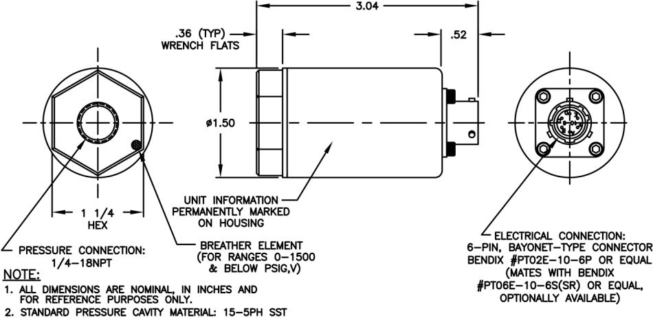 Model 34B—Pressure Transmitter