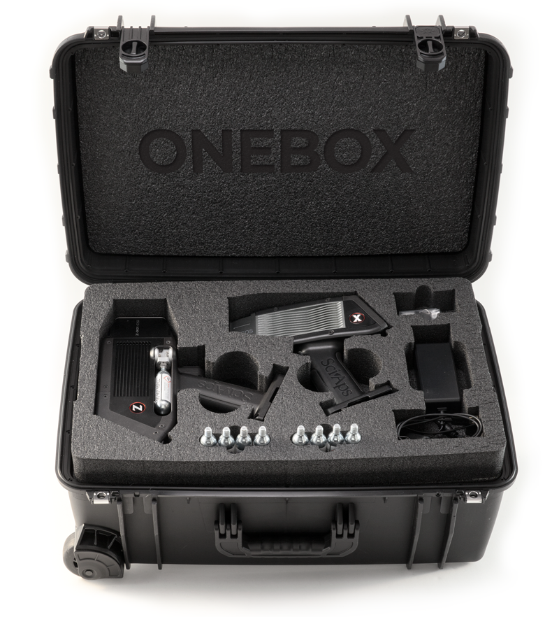 The X-550 Handheld XRF Analyzer