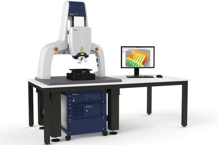 MSA-650 IRIS Micro System Analyzer work station measuring MEMS dynamics through Si-encapsulation.