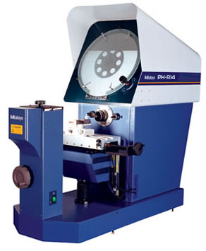 PH-A14 Horizontal Optical Comparator from Mitutoyo America
