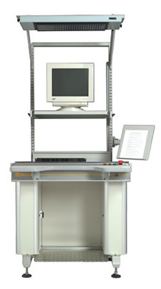 F2000W Edge Belt PCB Workstation from FlexLink
