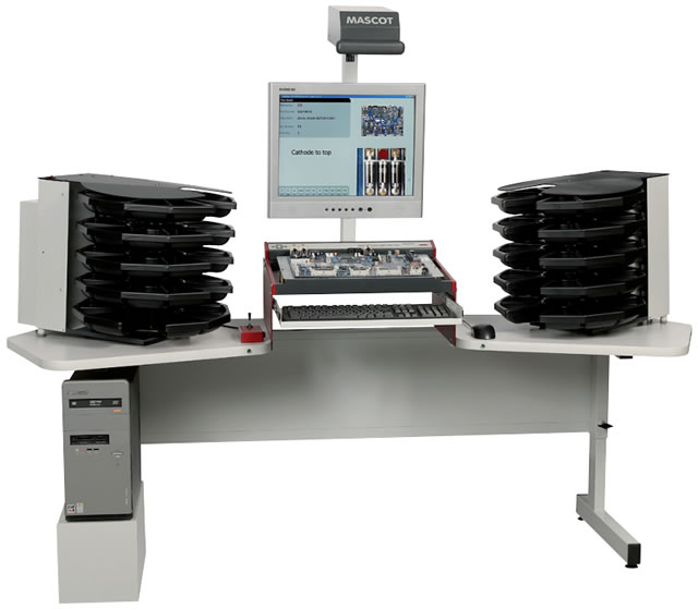 PCB Hand Assembly Workstation from MASCOT