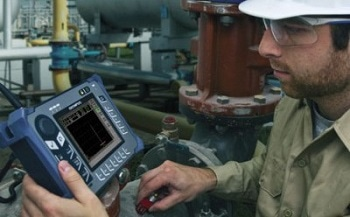 Handheld Ultrasonic Flaw Detector - EPOCH 600 from Olympus