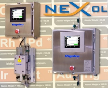 NEX OL EDXRF Process Analyzer