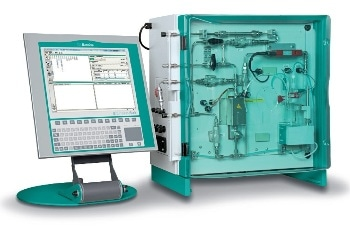 Automatic Coulometric Water Content Determination - 875 Karl Fischer Gas Analyzer