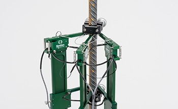 3567 Rebar Coupler and Rebar Splice Extensometers for Measuring Elongation of Rebar Coupler, Splice and Sleeve Assemblies