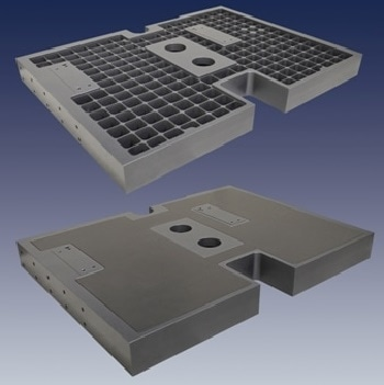 Providing Structural Damping with the Hybrid Honeycomb Breadboard