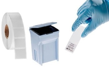 Stain Proof Xylene Resistant Labels for Microscope Slides