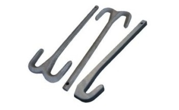 Sialon Hooks for Hot Dip Aluminizing