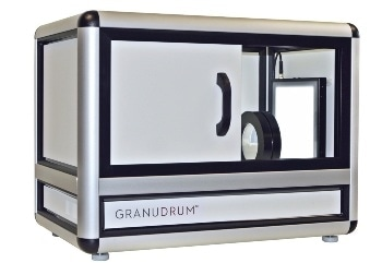 Rheometer for Powder for Dynamic Angle of Repose Measurements – GranuDrum